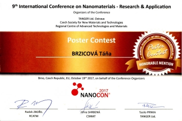 "Award for the poster ""Whole genome expression Analysis in THP-1 Macrophage-Like Cells Exposed to Nanoparticles"""