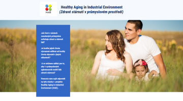 The press conference about the research project HAIE - Healthy Aging in Industrial Environment